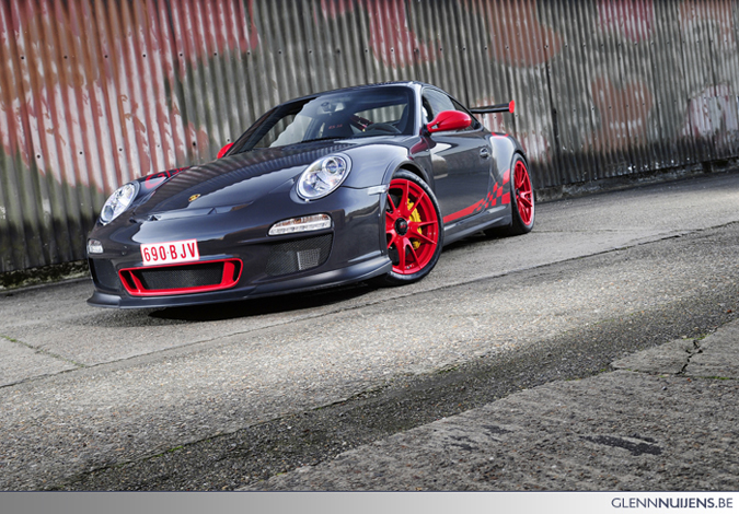 Fotoshoot Autofans.be Porsche GT3RS