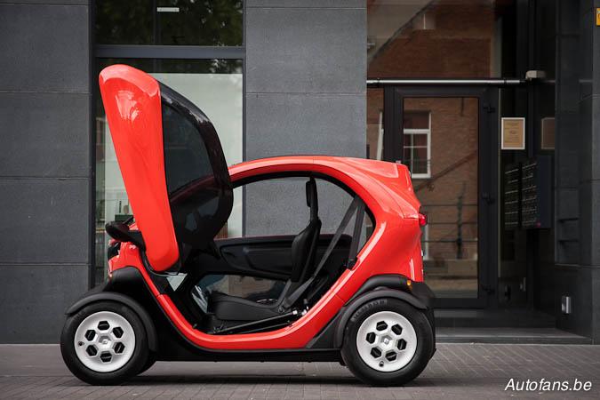 Renault twizy prijs belgie