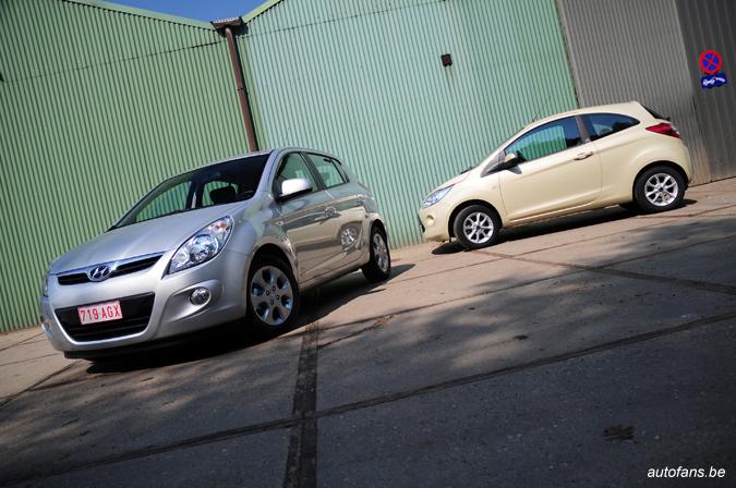 Rijtest: Hyundai i20 1.4i A & Ford Ka 1.2i | Autofans