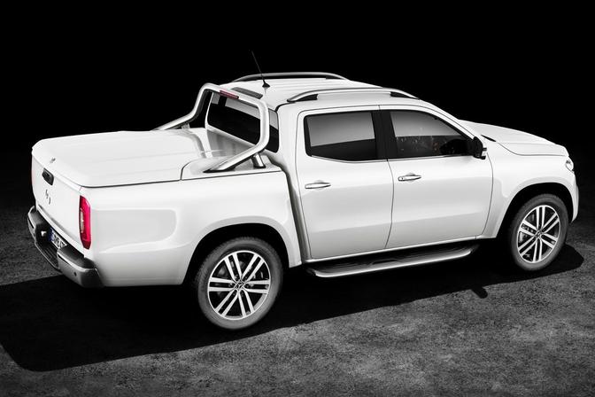 officieel mercedes x klasse is luxe pickup 2017 autofans. Black Bedroom Furniture Sets. Home Design Ideas