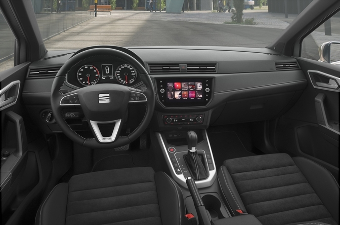 rij impressie seat arona 1 0 tsi dsg autofans. Black Bedroom Furniture Sets. Home Design Ideas