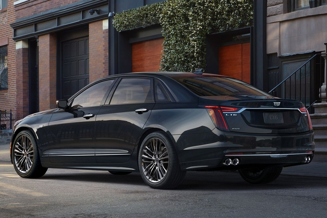 Cadillac CT6 V-Sport: 557 pk aan V8-muscle (2018) | Autofans