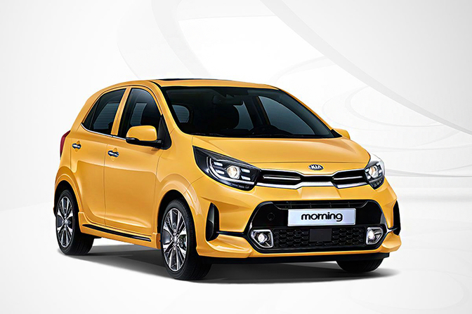 Kia Picanto facelift Morning KDM 2020