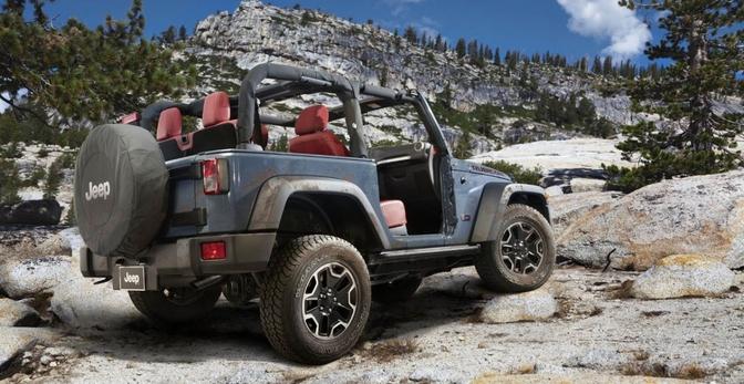 jeep wrangler rolde 1 miljoen keer over de productieband autofans. Black Bedroom Furniture Sets. Home Design Ideas