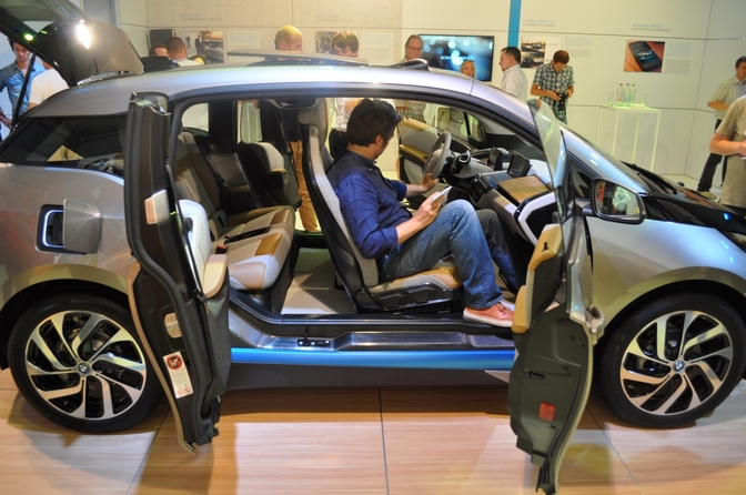 Belgische premi re bmw i3 autofans for Interieur i3