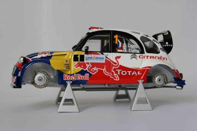 2CV WRC Is Knapste Schaalmodel Dat Je Nooit Zal Hebben