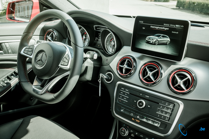 rijtest mercedes cla250 shooting brake 4matic autofans. Black Bedroom Furniture Sets. Home Design Ideas