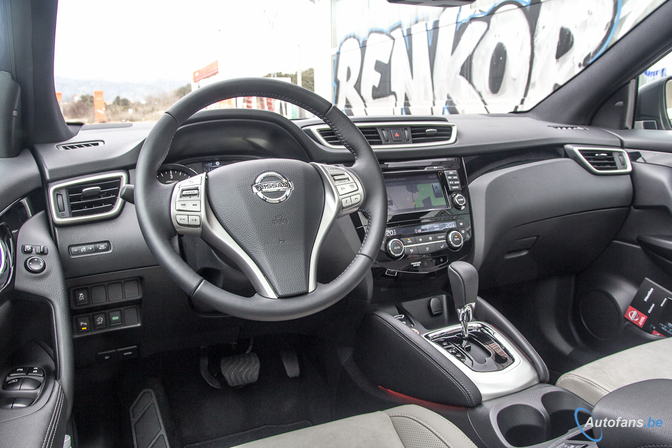 route occasion nissan qashqai interieur. Black Bedroom Furniture Sets. Home Design Ideas