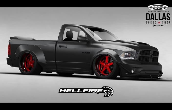 Deze Dodge Ram Heeft 775 Hellcat Pk S Autofans