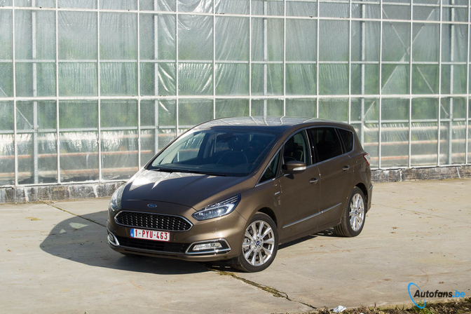 rijtest ford s max 2 0 tdci vignale 2017 autofans. Black Bedroom Furniture Sets. Home Design Ideas