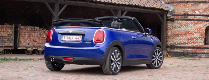 mini cooper cabrio facelift 2018 rijtest autofans