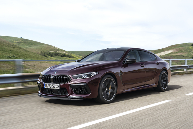 BMW M8 Competition Gran Coupe 2019