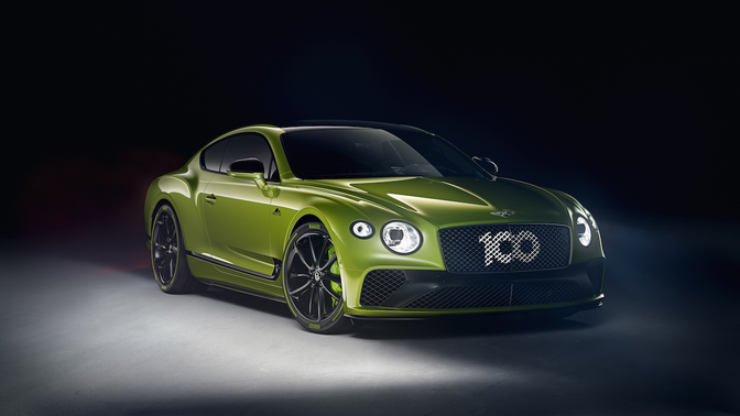 Bentley Continental GT Limited Edition Pikes Peak