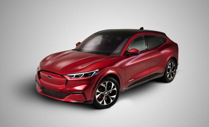 Ford Mustang Mach-E prijs
