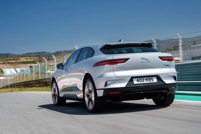 Jaguar I-Pace software update 2019