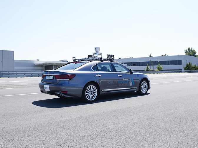 lexus autonomous driving brussels 2019
