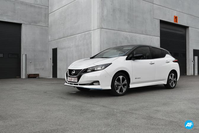 Nissan Leaf e Plus 62 kWh rijtest review