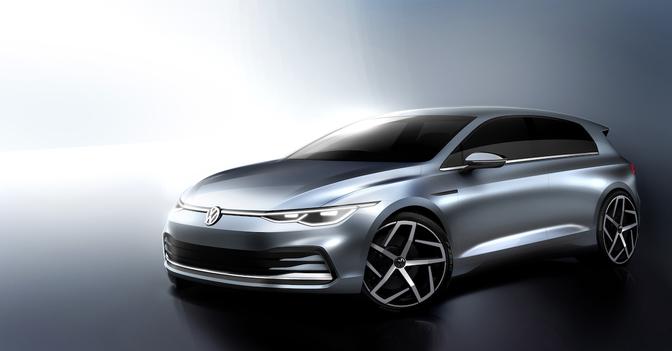 Volkswagen Golf MK8 teaser 2019