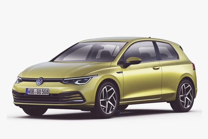 Volkswagen Golf MK8 3 Door 2019