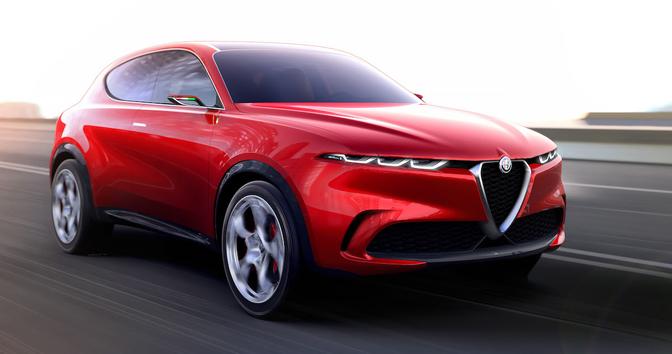 Alfa Romeo elektrische SUV