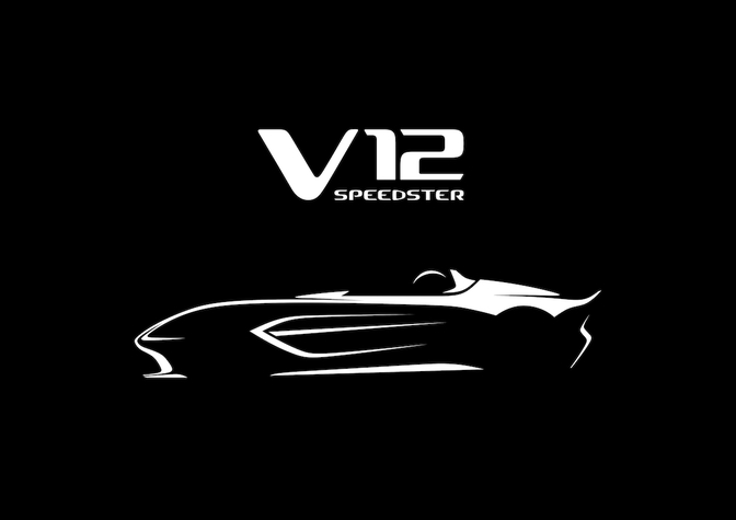 Aston Martin V12 Speedster teaser 2020