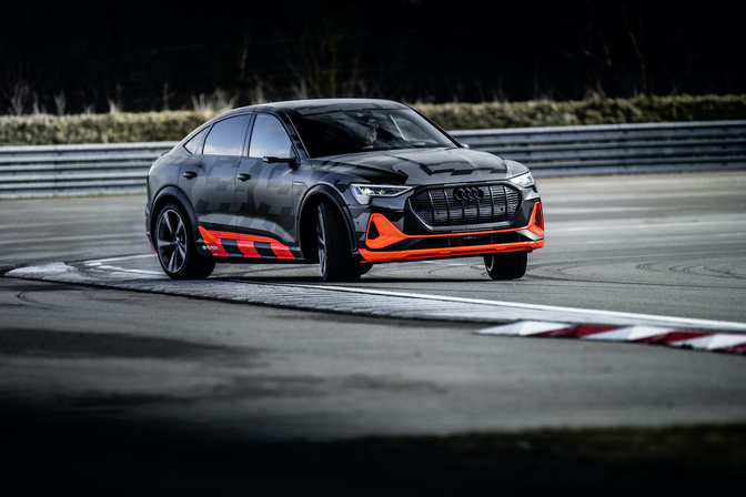 Audi E-tron Sportback S 2020