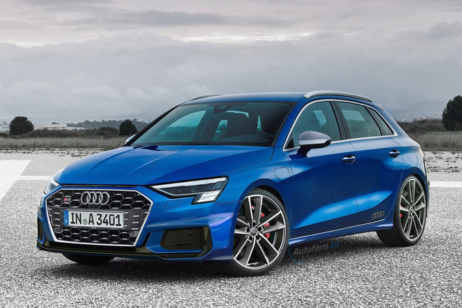 Audi S3 Render 2020 Preview