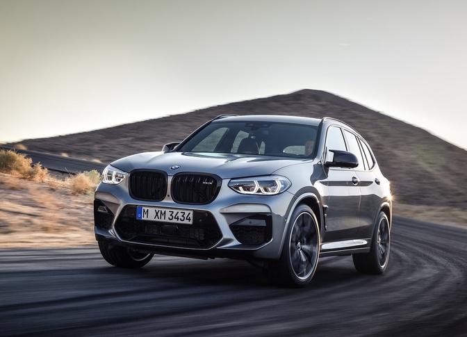 BMW X3 M Competition 2020 Rijtest