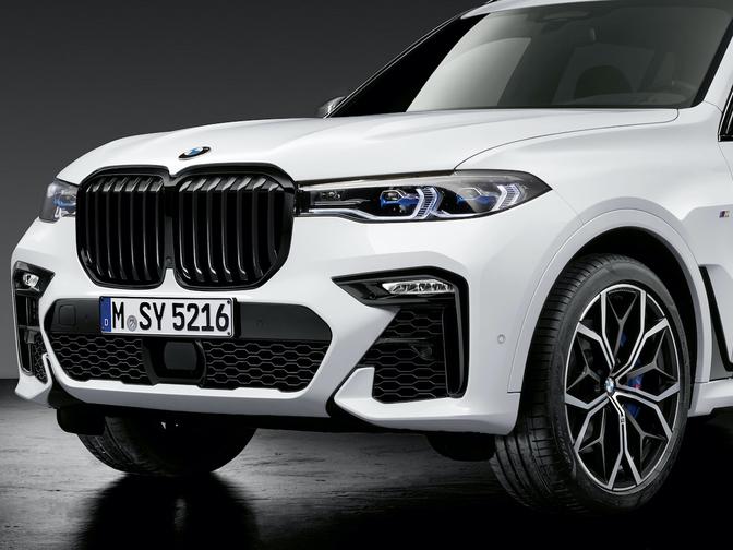 BMW X8 M X7 SUV coupe hybride