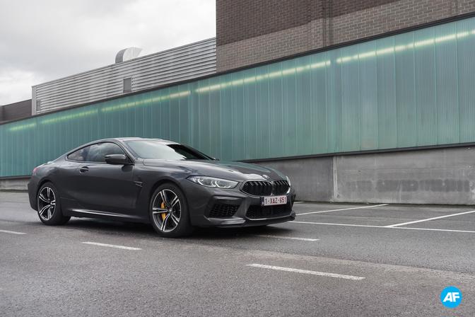 BMW M8 Competition Coupé rijtest Autofans 2020