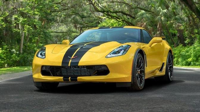 Hertz Chevrolet Corvette prijs corona failliet