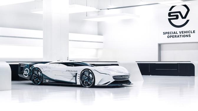 Jaguar Vision Gran Turismo SV 2020