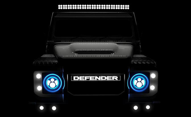 EDC Land Rover Defender elektrisch Tesla