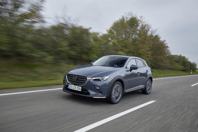 Mazda CX-3 facelift 2020