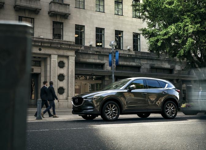 Mazda CX-5 2020 facelift MY20 polymetal grey