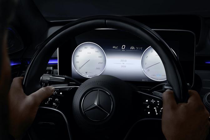 Mercedes S-Klasse MBUX 2020