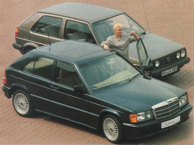 Schulz Mercedes 190E Compact City