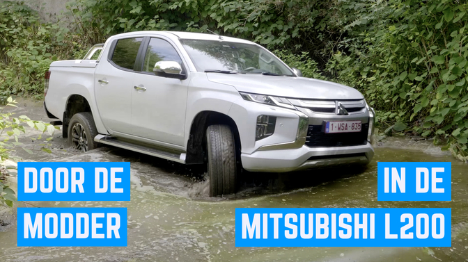 Video Mitsubishi L200 offroad 4x4 pickup
