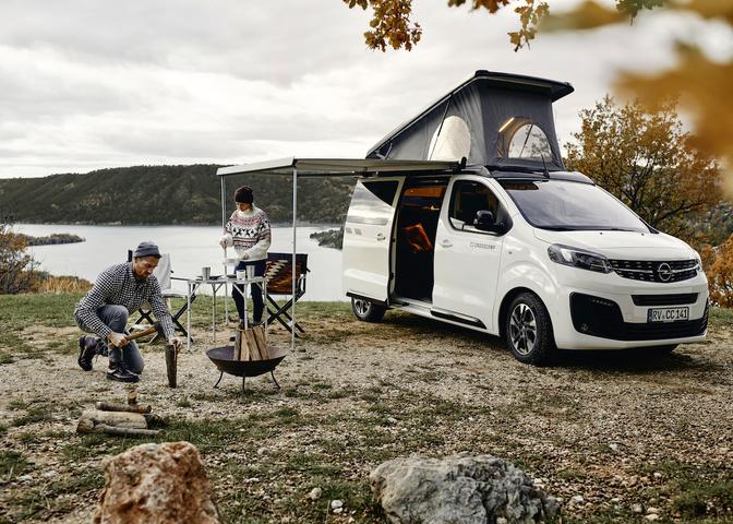 Opel Zafira Life Crosscamp 2020 Hymer