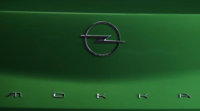Opel Mokka 2020 teaser