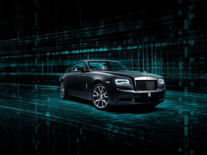 Rolls-Royce Wraith Kryptos Collection 2020