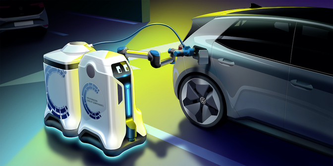 Robot de recharge de Volkswagen