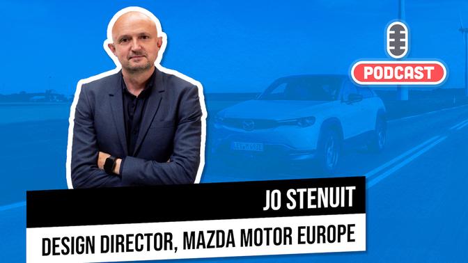 Auto podcast Autofans Jo Stenuit Mazda