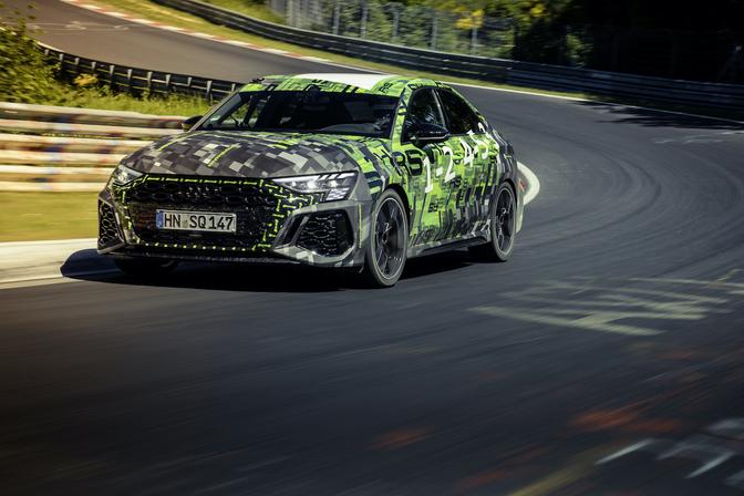 Audi RS 3 Nürburgring record 2021