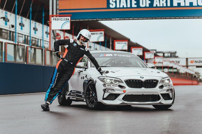 BMW M2 CS Racing Cup Jeroom BMW Group Benelux Art car