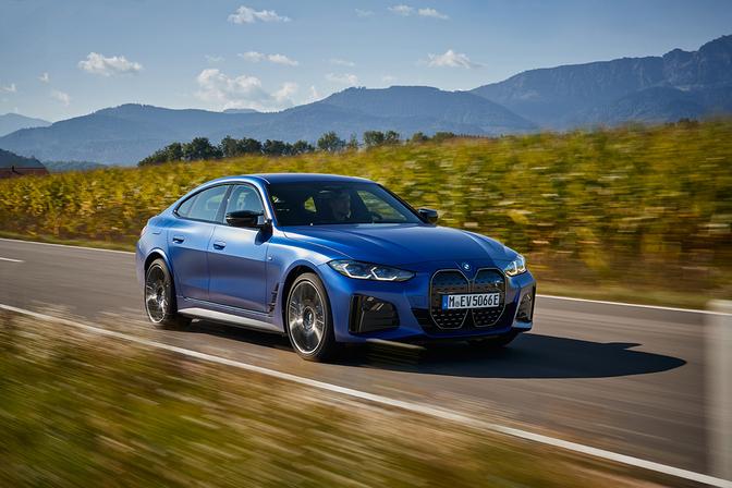 Test BMW i4 M50 2021