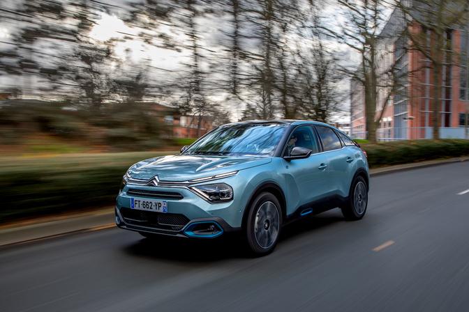 Citroën Ë-C4 essai 2021