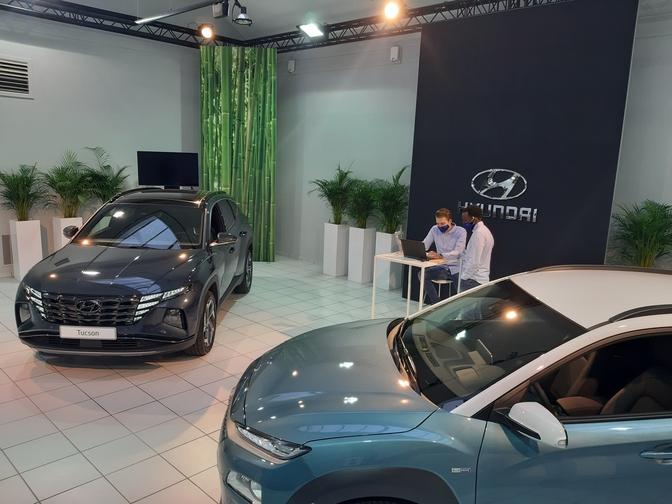 Showroom digital Hyundai