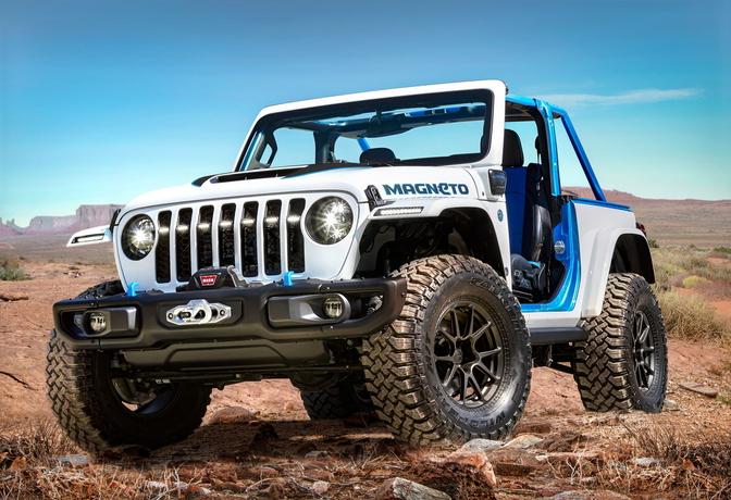 Jeep Wrangler Magneto 2021 Concept