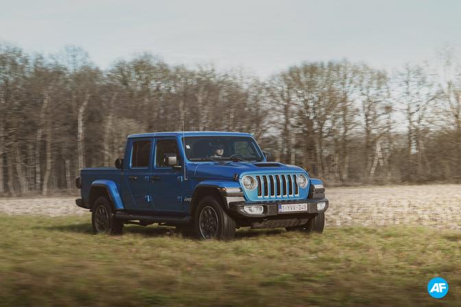 Essai : Jeep Gladiator 2021